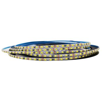 Estrecho Ancho de 3mm de PCB 12V DC 5m 2520 de la Tira del LED 168leds/m 840LEDs Blanco Fresco Blanco Caliente de Tira Flexible del LED IP20 No-Impermeable