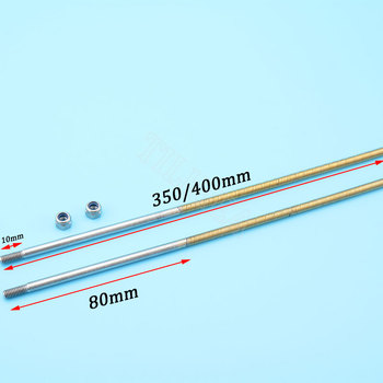 Buena Calidad de 4 mm de Eje Flexible de 4 mm de Eje cardán de 350 mm/400 mm Flex Cable para Gas Nitro Rc Barco