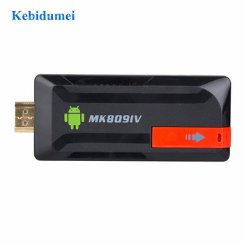 Kebidumei MK809IV Smart TV Stick de 2GB 8GB Android TV Box Dongle Inalámbrico Mini PC Quad Core WIFI Bluetooth Juego de la TV Stick